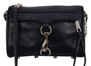 Rebecca Minkoff Leather Chain Mini Mac Cross Body Bag