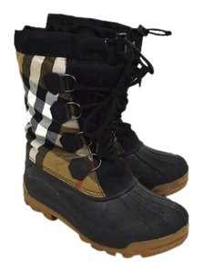 Burberry Haymarket Check Boots
