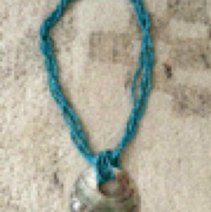 Other Turquoise/Abalone necklace