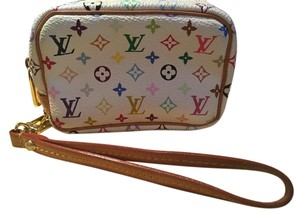 Louis Vuitton Louis Vuitton Pochette White Multicolored