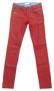 Habitual Skinny Pants Metallic Red