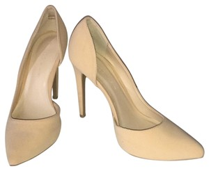 Wild Diva Classic Stiletto Nude Beige Neutral Pumps