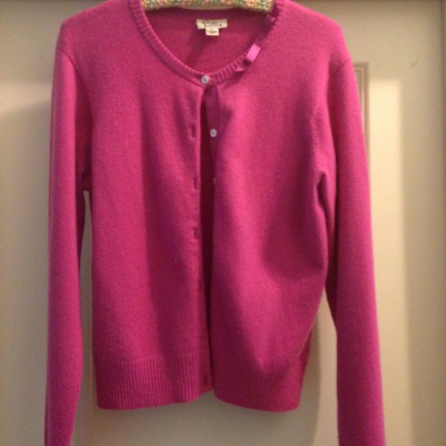 Preload https://item2.tradesy.com/images/lilly-pulitzer-pink-cardigan-size-8-m-1612431-0-0.jpg?width=400&height=650