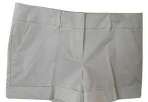 New York & Company Cuffed Shorts White