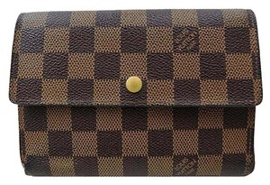Louis Vuitton LOUIS VUITTON Signature Damier LV Monogram Long Wallet