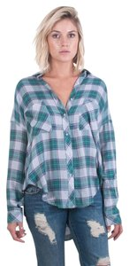 The Laundry Room Button Down Shirt BLUE