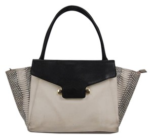 Vince Camuto Leather Tote in Grey