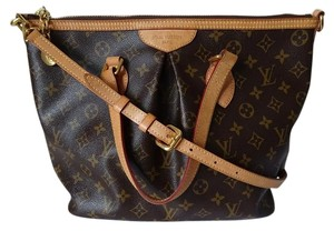 Louis Vuitton Palermo Louis V Satchel in Monogram
