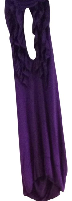 Arden B. Purple Halter Top