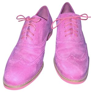 Cole Haan Oxford Suede Pink Flats