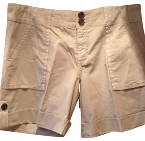Sanctuary Clothing Cuffed Shorts Khaki