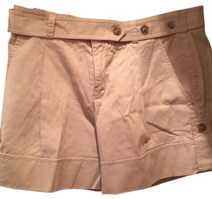 Vince Cuffed Shorts Khaki/light green