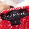 Rampage Top Red & White Image 3