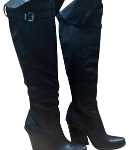 Jessica Simpson Black Cat Boots