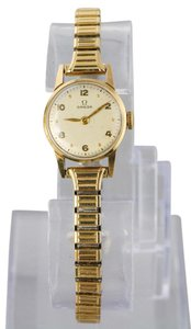 Omega Omega Ladies Gold Tone Vintage Manual Wind Watch