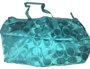 Coach Turquoise Travel Bag