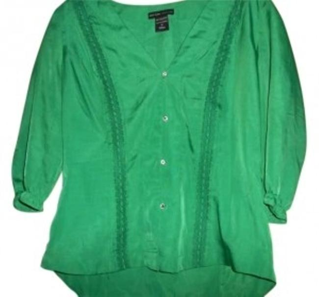 Preload https://item3.tradesy.com/images/new-york-and-company-emerald-green-ny-co-silk-shirt-button-down-top-size-4-s-161272-0-0.jpg?width=400&height=650
