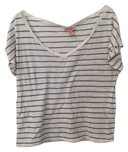 Mossimo Supply Co. Striped Yoga Exercise T Shirt