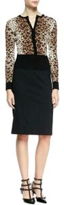 RED Valentino Pencil Skirt Black