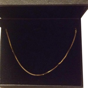 14kt yellow gold boxchain 18inch