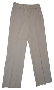 Ann Taylor LOFT Lined Wool Trouser Pants camel