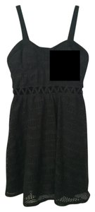 Xhilaration short dress Lace Print Comfortable Chic Cut-out on Tradesy