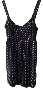 BeBop short dress Blk/wht on Tradesy