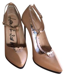 Lanvin Stiletto camel Pumps