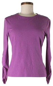 Escada Longsleeve T Shirt Purple