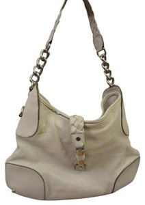 Michael Kors Leather Metallic Hardware Shoulder Bag