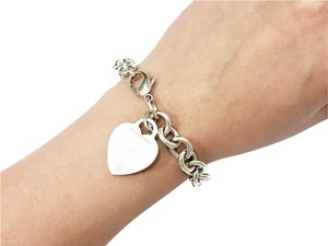Tiffany & Co. Tiffany & Co Heart Tag Bracelet