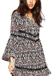 Band of Gypsies short dress Multi print floral on Tradesy