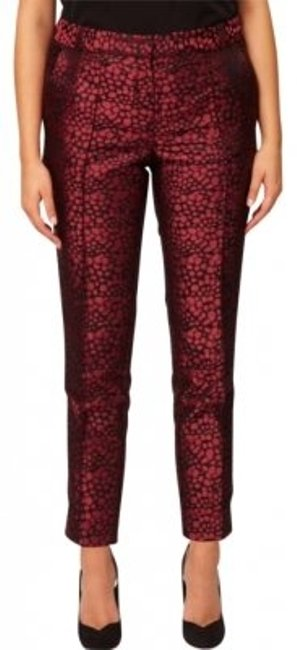 Preload https://item2.tradesy.com/images/asos-red-curve-jacquard-trousers-size-16-xl-plus-0x-161286-0-0.jpg?width=400&height=650