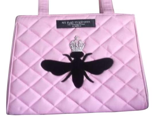 Preload https://item3.tradesy.com/images/my-flat-in-london-pink-faux-leather-tote-161287-0-0.jpg?width=440&height=440