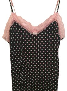 Victoria's Secret Date Night Polka Dot Stretchy Lace Top