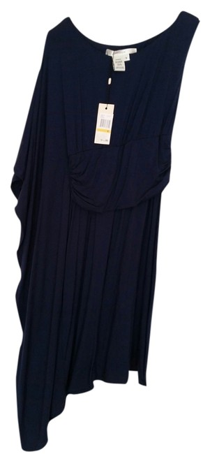 Preload https://item4.tradesy.com/images/studio-m-dark-blue-above-knee-cocktail-dress-size-4-s-1612938-0-0.jpg?width=400&height=650