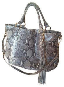 G.I.L.I. Leather Exotic Shoulder Bag