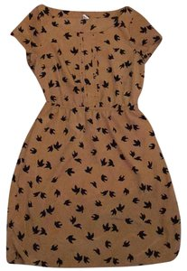 Old Navy short dress Black and brown on Tradesy