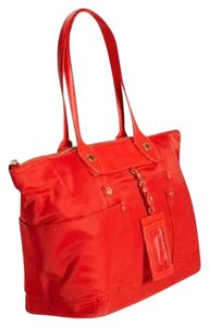 Marc by Marc Jacobs Preppy Id Tag Logo East-west Tote in Red