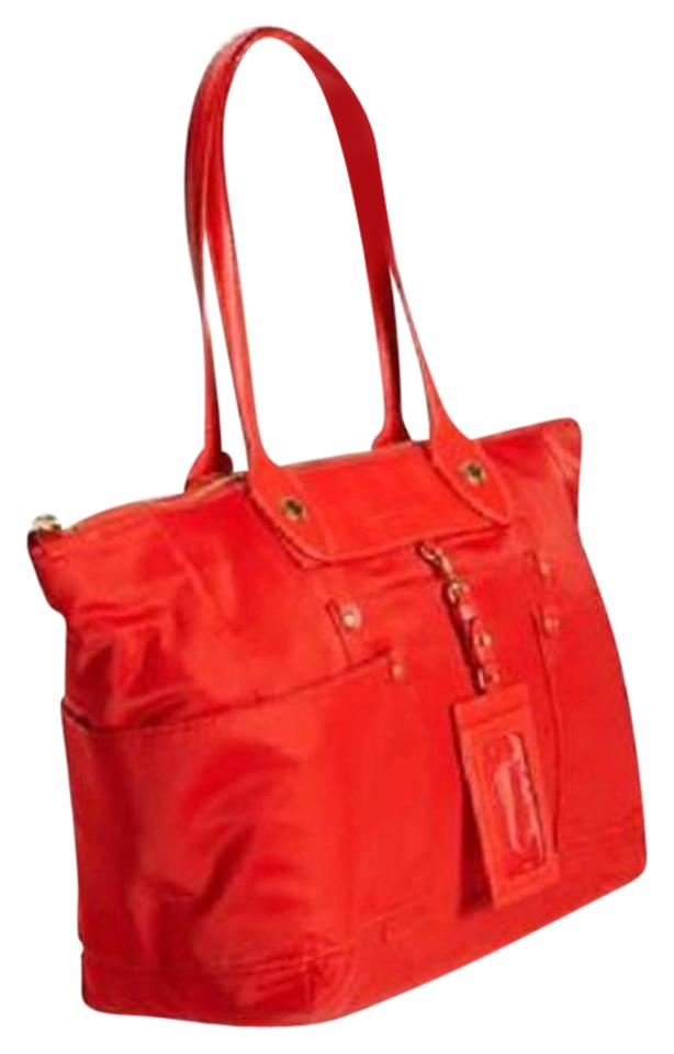 f0e11da56e535 Marc by Marc Jacobs Preppy East-west Shopper Red Nylon Tote - Tradesy