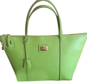 Dolce&Gabbana Tote in Lime Green