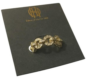 House of Harlow 1960 Gold Eternal Link Band Ring