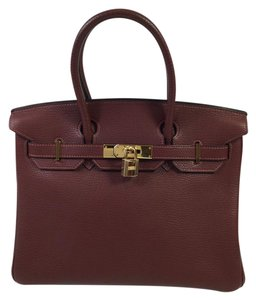 Herms Hermes Togo Leather Shoulder Bag