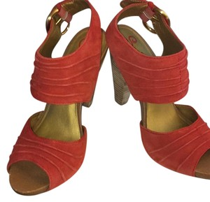 Seychelles Orange Sandals