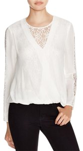 Chelsea and Walker Silk Top Ivory