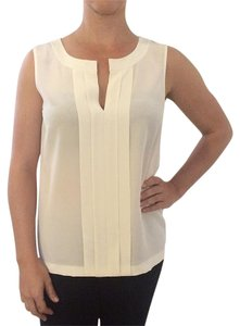 Kate Spade Pleated Casual Top White