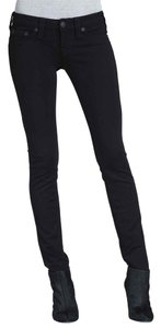 True Religion Skinny Black Denim Stella Skinny Jeans-Dark Rinse