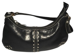 Michael Kors Leather Studded Hobo Bag