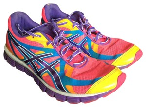 Asics Pink/blue/orange/yellow Athletic
