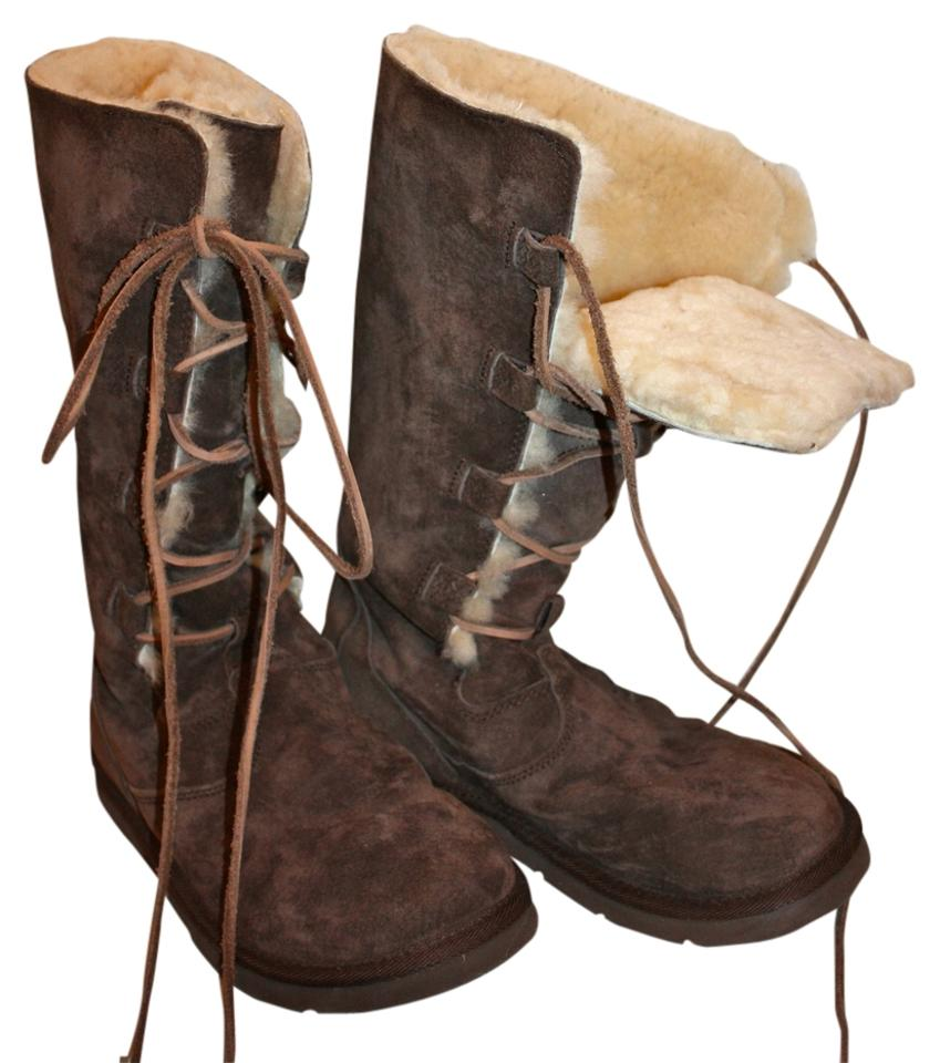 fb5d31c218d UGG Australia Brown Whitley Espresso Lace-up Boots/Booties Size US 9  Regular (M, B) 64% off retail